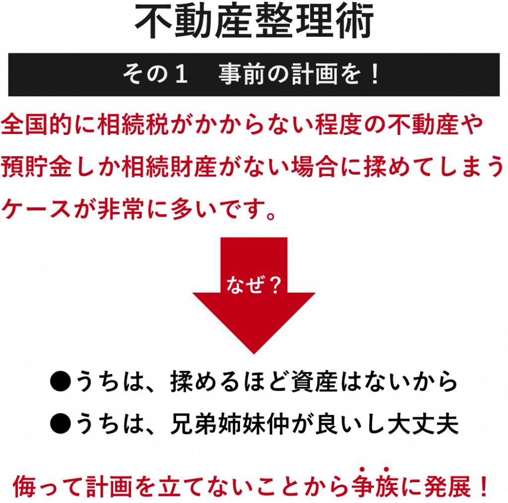 不動産整理術セミナー_資料_その1事前に計画を!